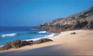 Cornish beach scene
