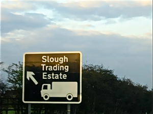 Heading down the M4?